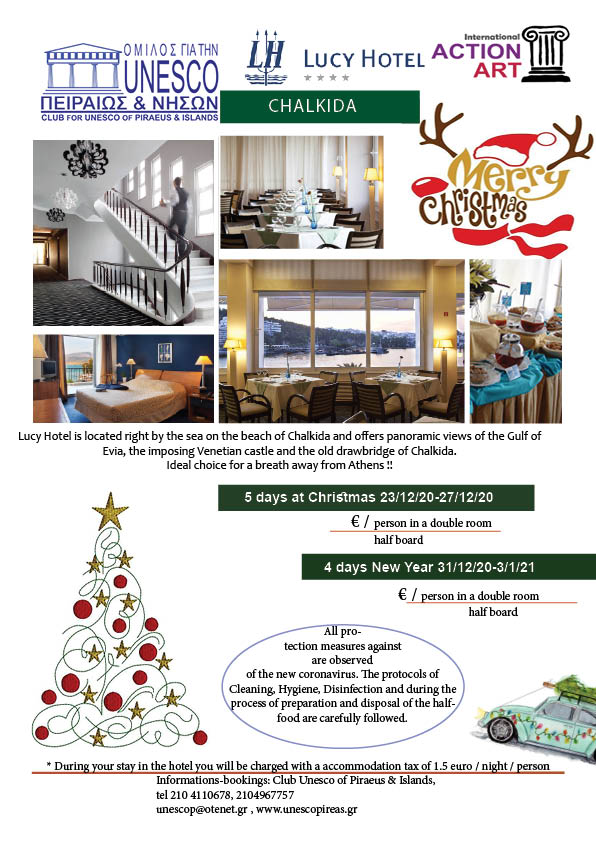 CHRISTMAS NEW YEAR LUCY HOTEL 2020 -2021
